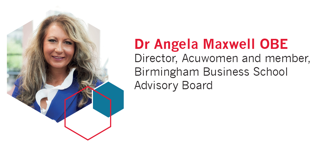 Dr Angela Maxwell OBE