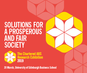 The Chartered ABS' Annual Research Conference